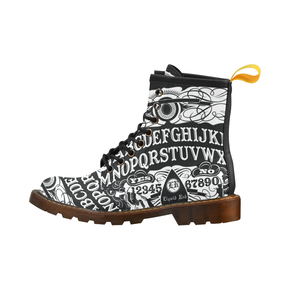 Ouija Womens Boots Martens Leather Women's Boots