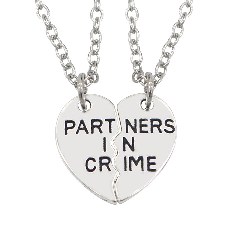 crime partner ours necklace com partners alone in bff your dp you usa amazon for and necklaces