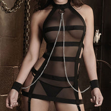 Slave Bondage Cage Harness Dress