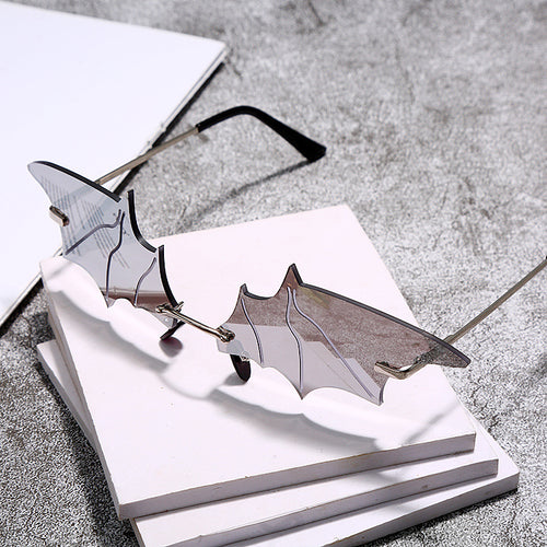 Gothic bat sunglasses
