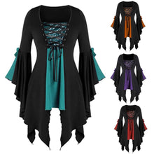Plus Size Sequin Gothic Tunic Top