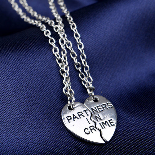 Partners in Crime Necklace Set