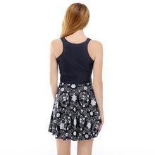 Skull stretch dress