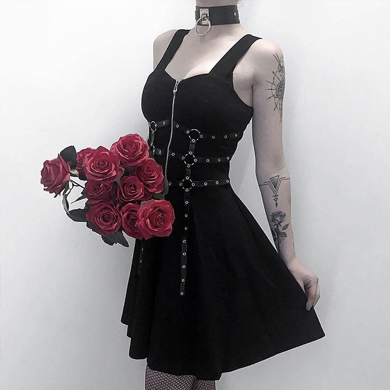 Black Bondage Dress