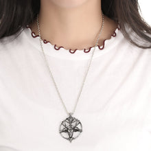 Pentagram Goat Pendant Necklace