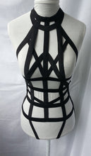 Lily Full Body Bondage Harness Bra Goth Fetish Lingerie