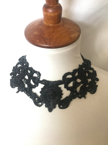 Baroque 3D Handmade latex rubber necklace