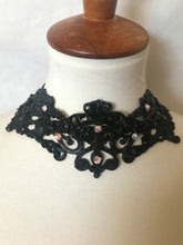 Crown Jewels 3D Handmade latex rubber necklace