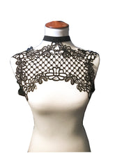 Fishnet Lace Harness Top