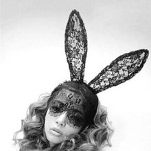Sexy Lace Bunny Ears