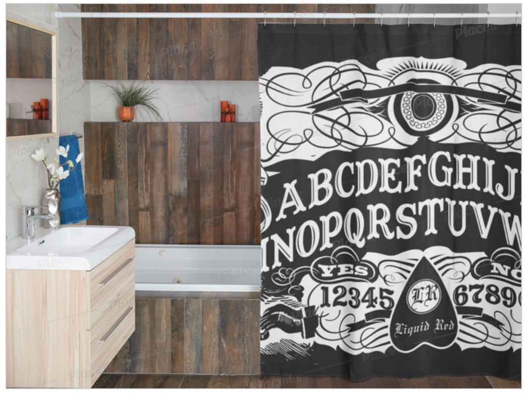Ouija Board Shower Curtain 72