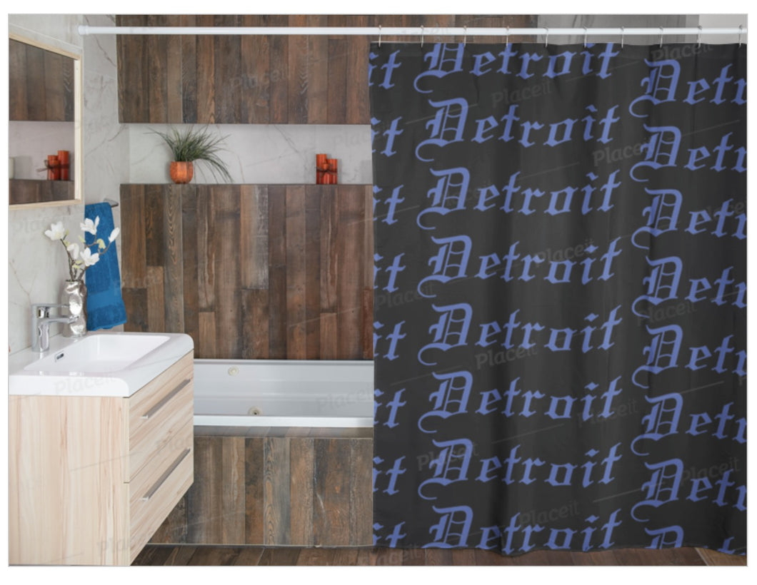 Detroit Shower Curtain 72