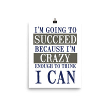 I'M GOING TO SUCCEED Poster