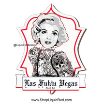 Las Vegas Tattooed Girl Short-Sleeve Unisex T-Shirt