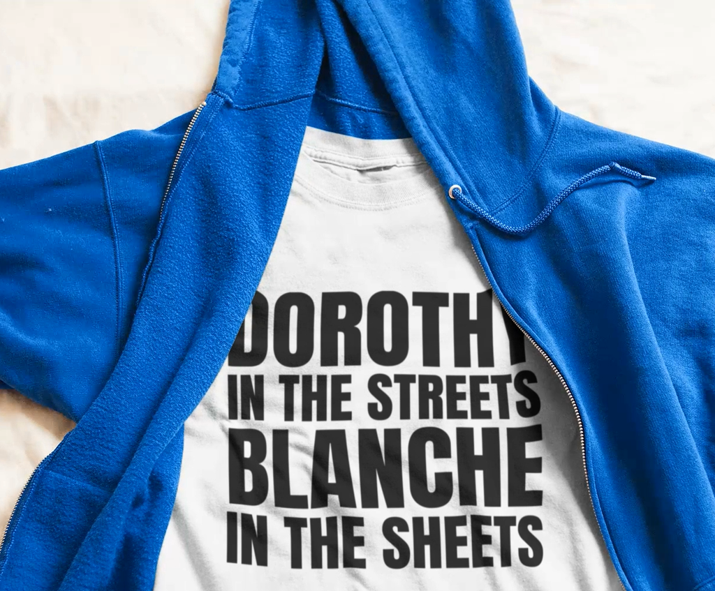 Dorothy In The Streets Blanche In The Sheets Short-Sleeve Plus Size T-Shirt