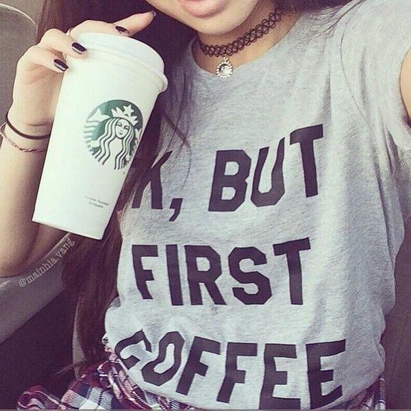 Ok, But First Coffee Short-Sleeve   Unisex T-Shirt