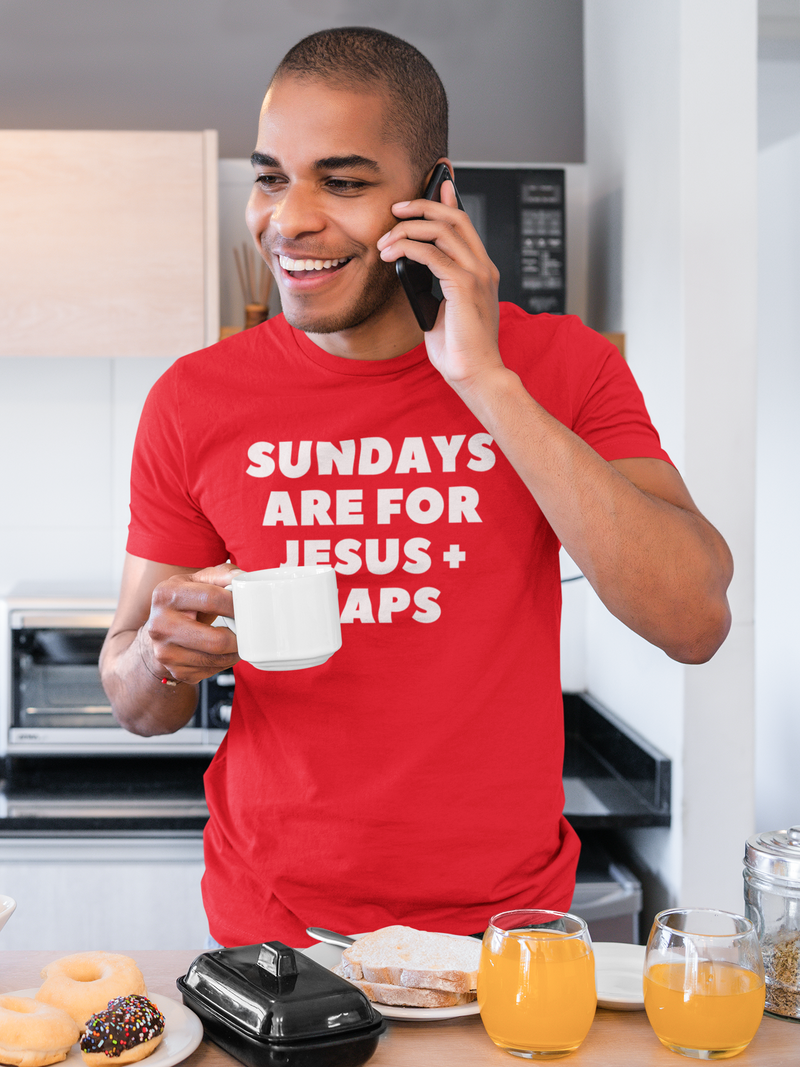 Sundays Are For Jesus And Naps Short-Sleeve T-Shirt