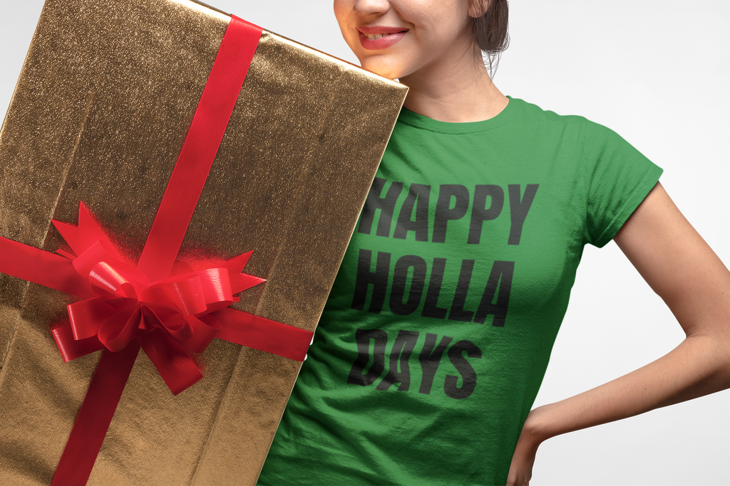 Happy Holla Days Unisex Short-Sleeve T-Shirt