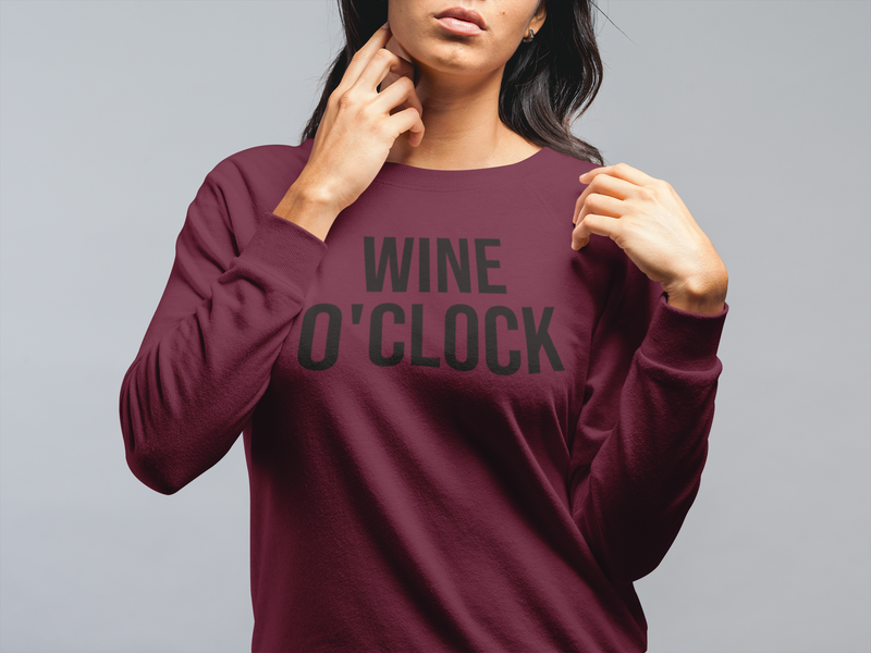 But First, Wine Sweatshirt