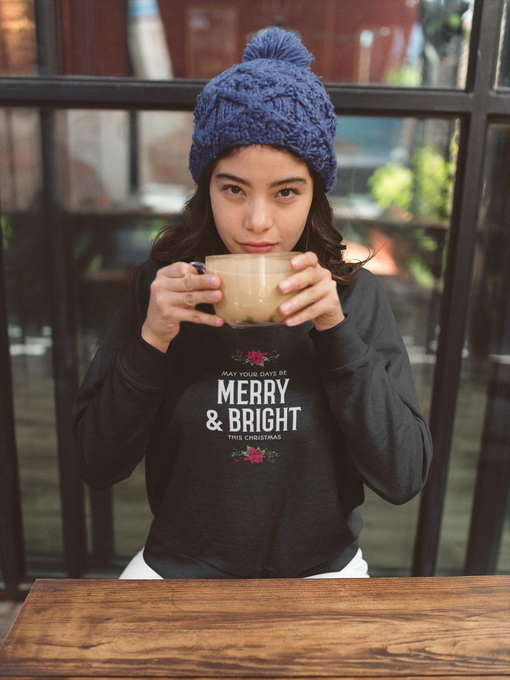 Merry & Bright Christmas Long Sleeve T-Shirt