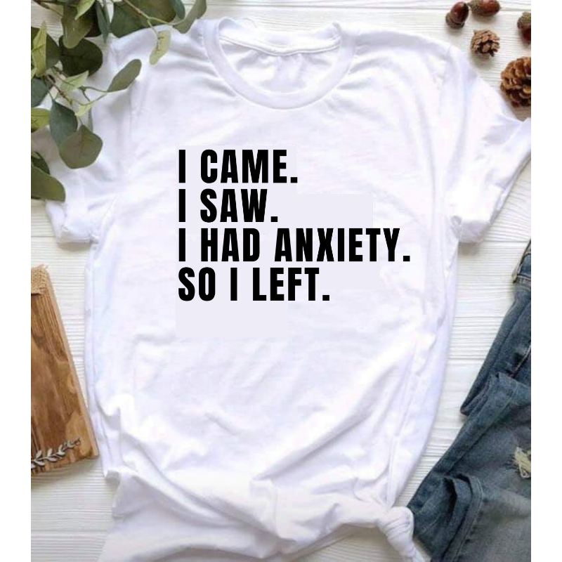 Anxiety Short-Sleeve T-Shirt