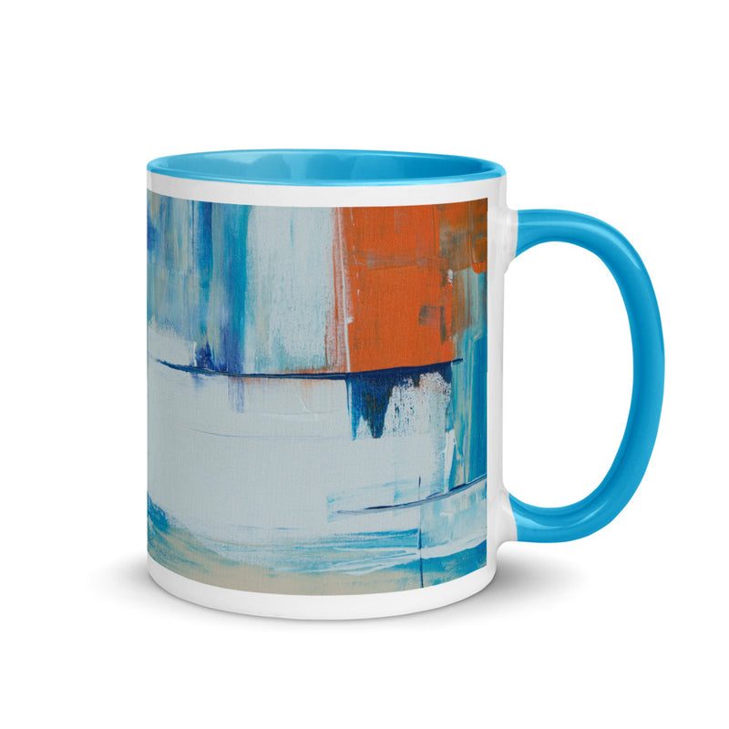 Canvas Abstract Art Coffee Mug