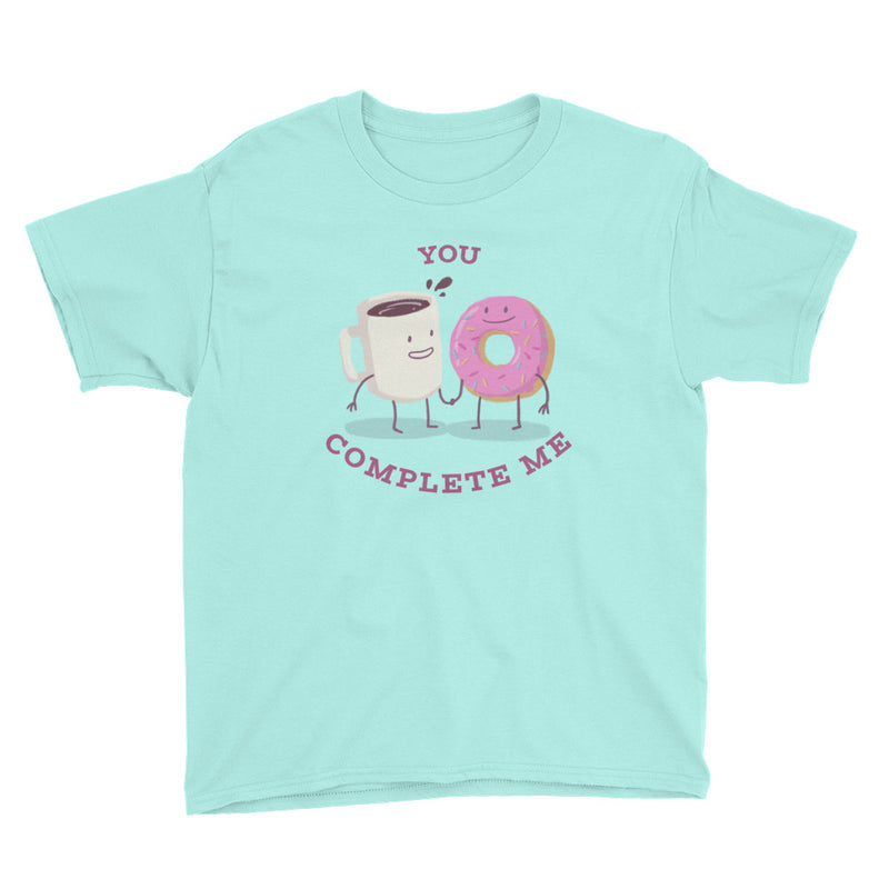 You Complete Me Youth Short Sleeve T-Shirt