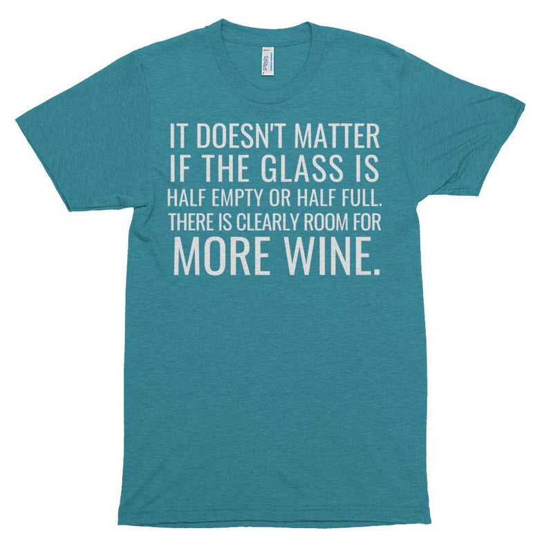 Clearly Room For More Wine Short Sleeve T-Shirt