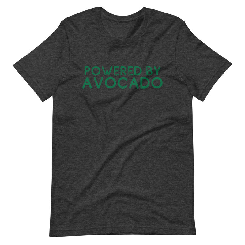 Powered By Avocado Short-Sleeve Unisex T-Shirt