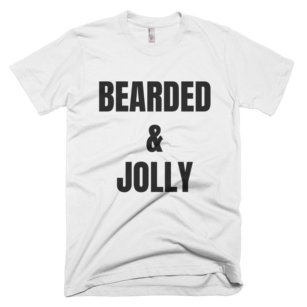 Bearded & Jolly Short-Sleeve T-Shirt