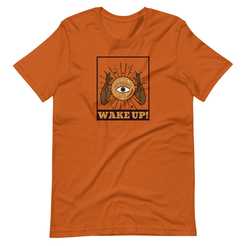 Wake Up Short-Sleeve Unisex T-Shirt