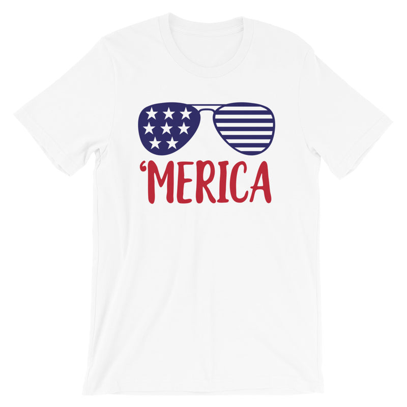 'Merica Short-Sleeve Unisex T-Shirt