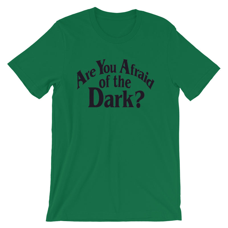 Are You Afraid of the Dark? Plus Size Short-Sleeve Unisex T-Shirt