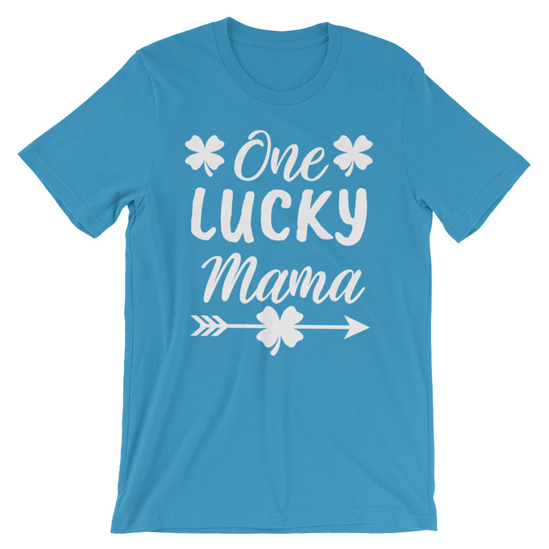 One Lucky Mama St. Patrick's Day Short-Sleeve   T-Shirt