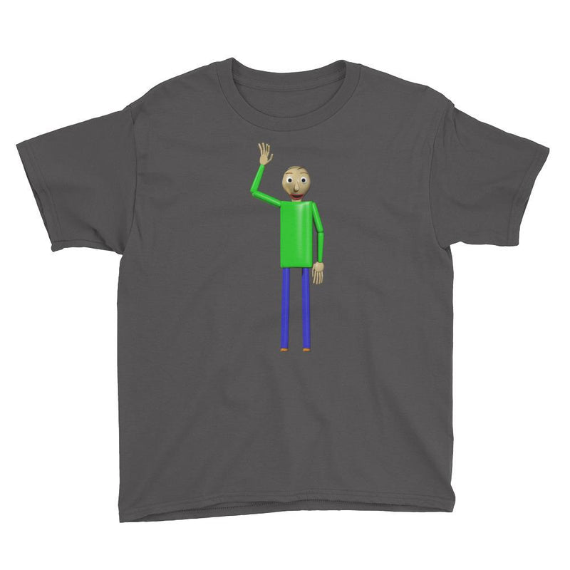Baldi's Basics in Education and Learning Youth Short Sleeve T-Shirt