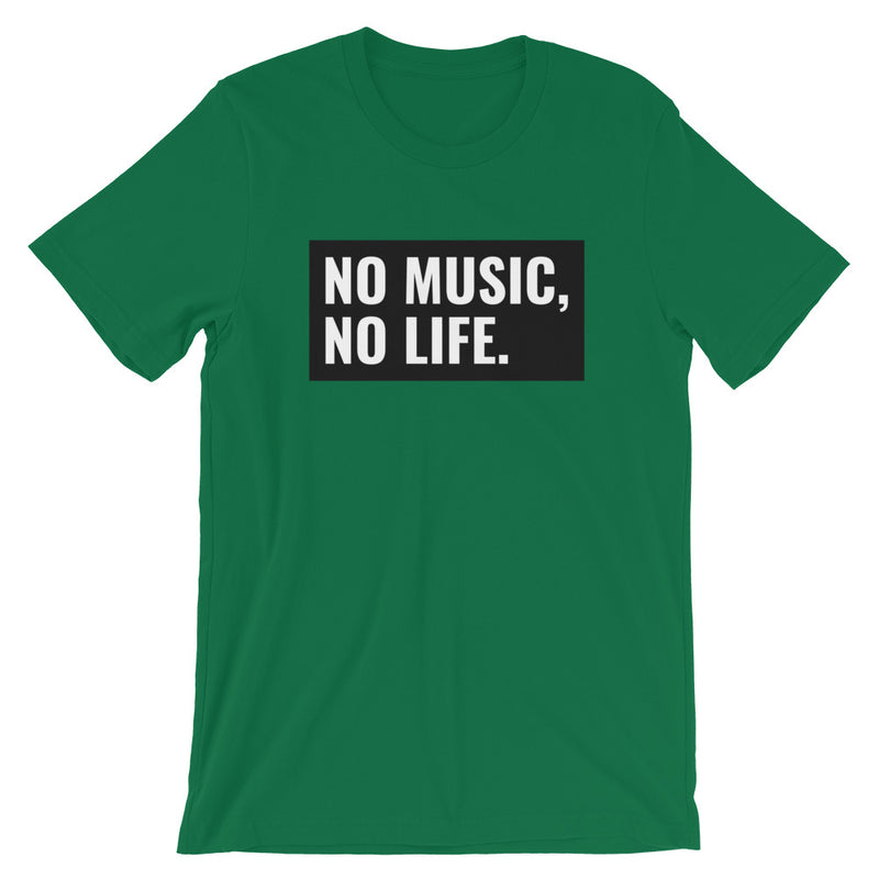 No Music, No Life Short-Sleeve Unisex T-Shirt