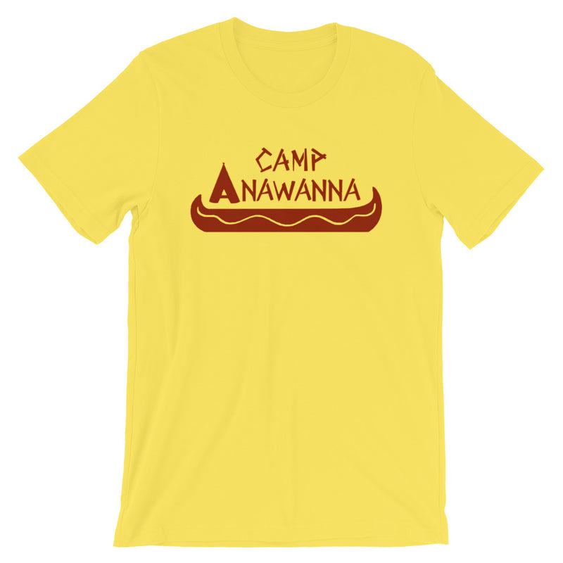 Camp Anawanna Salute Your Shorts Short-Sleeve   Unisex T-Shirt