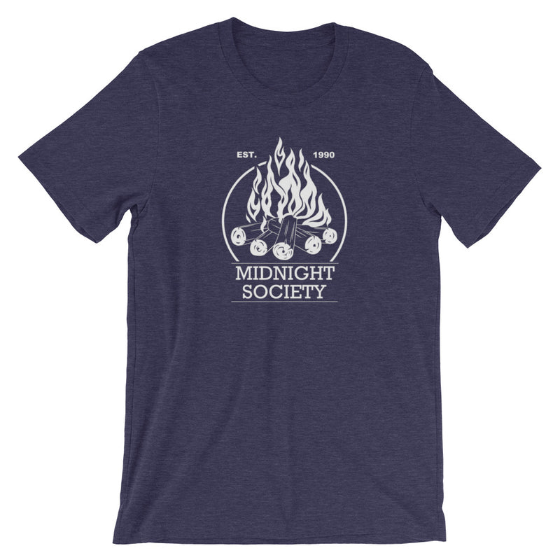 Midnight Society Are You Afraid Of The Dark Short-Sleeve Plus Size Unisex T-Shirt