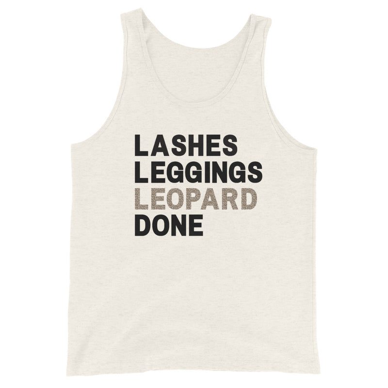 Lashes Leggings Leopard Done Tank Top