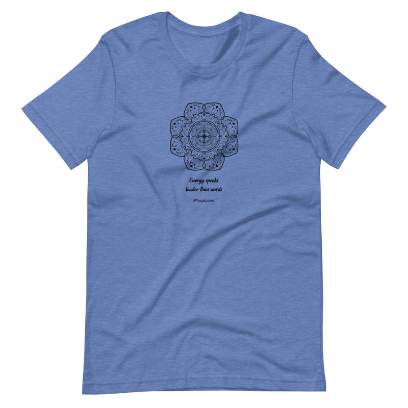 Yoga Energy Short-Sleeve Unisex T-Shirt