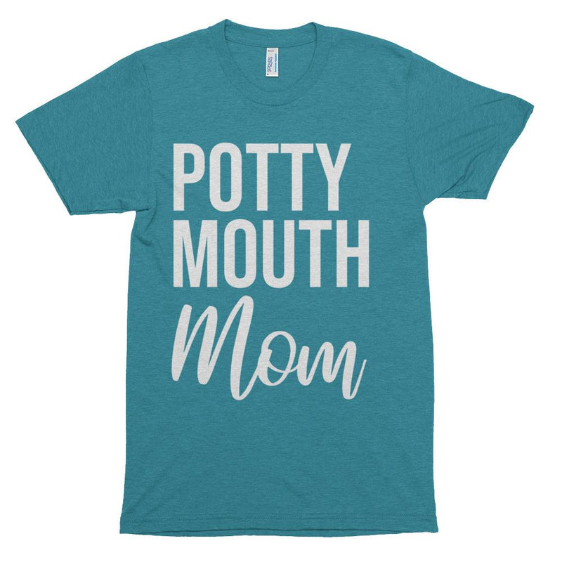 Potty Mouth Mom Short sleeve T-Shirt