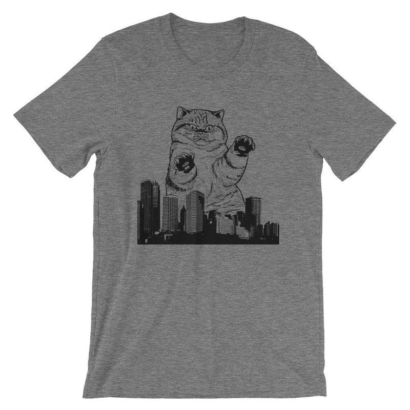 Kitty-Zilla Short-Sleeve Unisex   T-Shirt