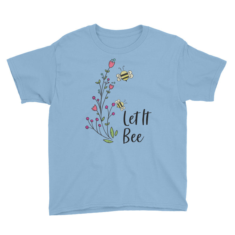 Let It Bee Youth Short Sleeve T-Shirt