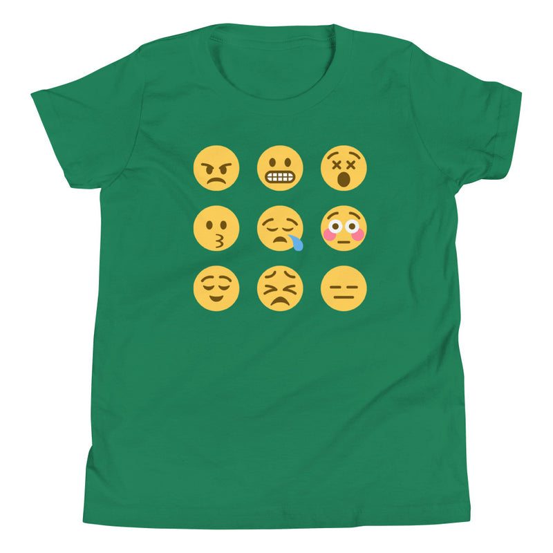 Emoji Youth Short Sleeve T-Shirt