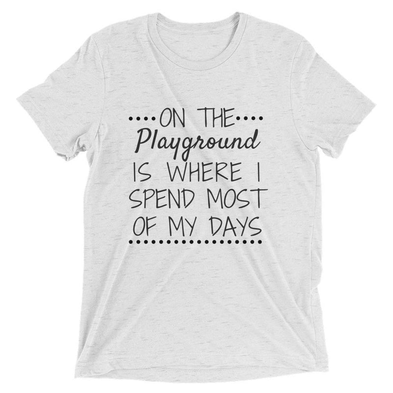 Fresh Prince: On The Playground Is Where I Spend Most Of My Days Short Sleeve T-shirt