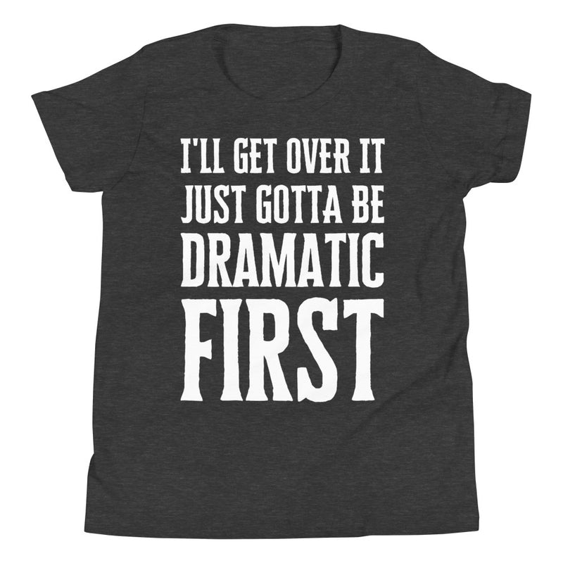 Overly Dramatic Youth Short Sleeve T-Shirt