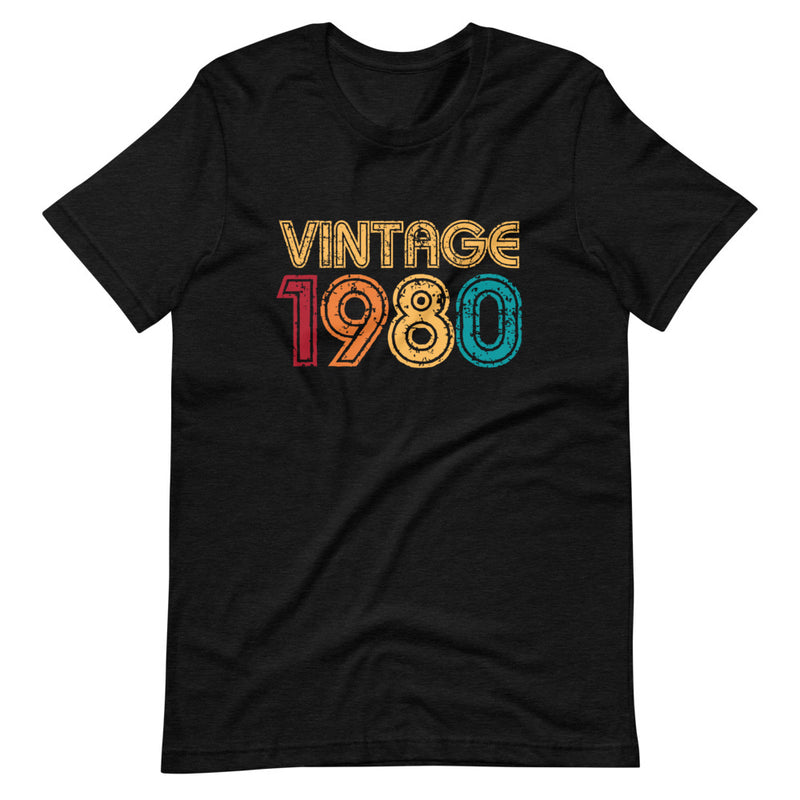 Vintage 1980 Short-Sleeve Unisex T-Shirt