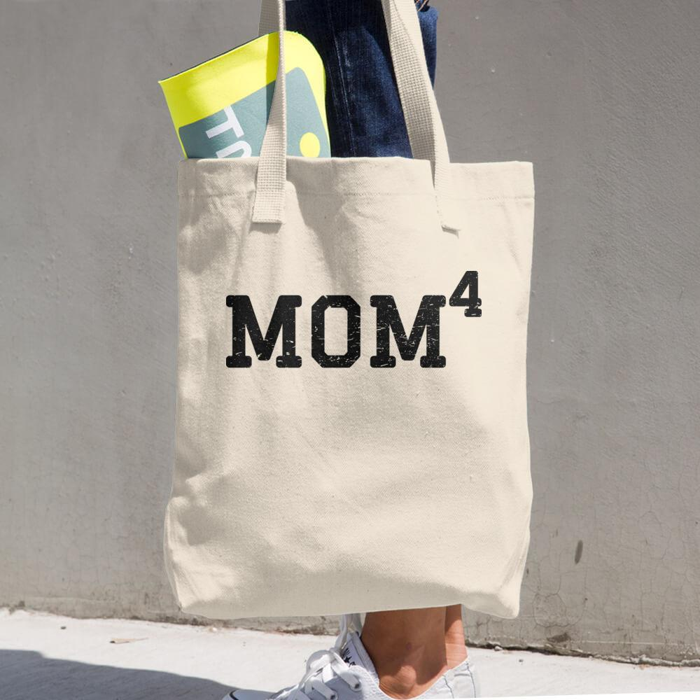 Mom 4, Cotton Tote Bag