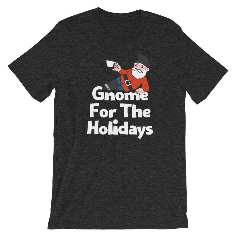 Gnome For The Holidays Short-Sleeve Unisex T-Shirt