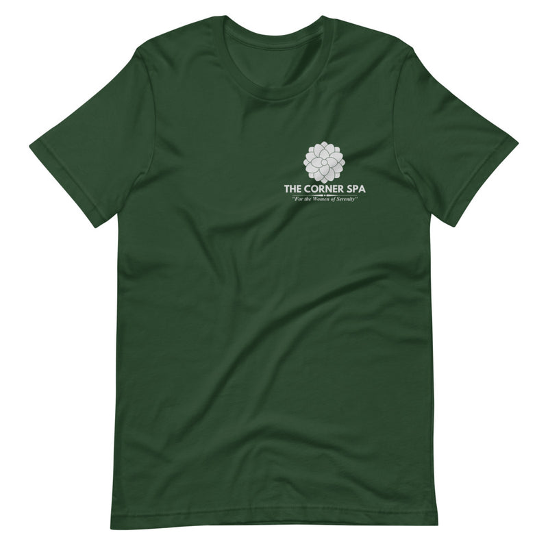 Sweet Magnolias The Corner Spa Short-Sleeve Unisex T-Shirt